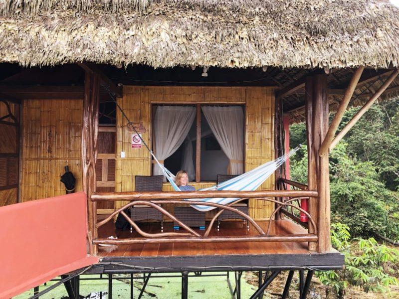 Ecuador Napo Wildlife Center Prive Balkon Met Hangmat