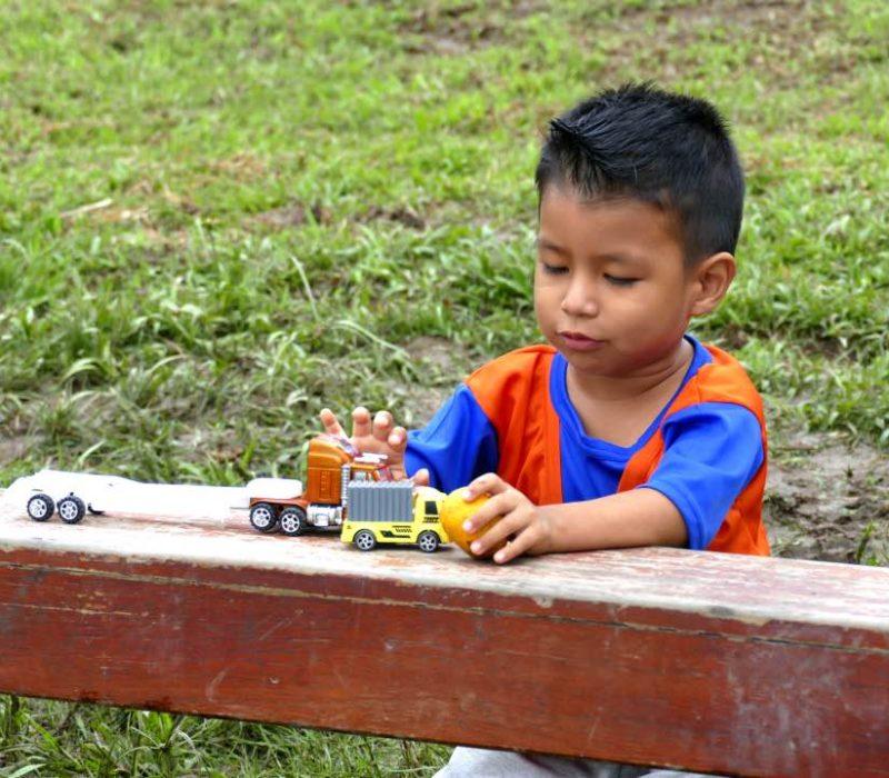 Spelende Kinderen Van De Anangu Community