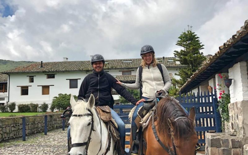 Paardrijden In Ecuador Bij Hacienda Zuleta