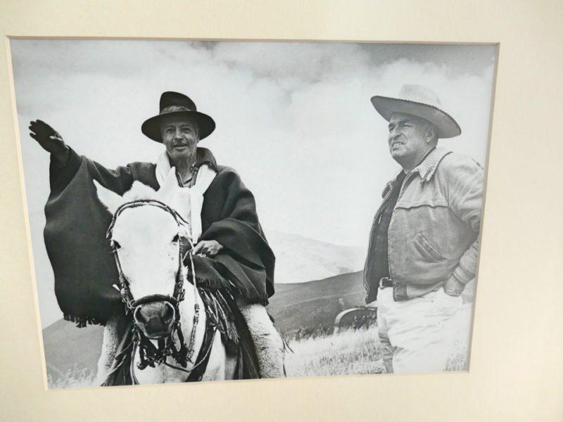 Galo Plaza Lasso Paardrijden In Ecuador