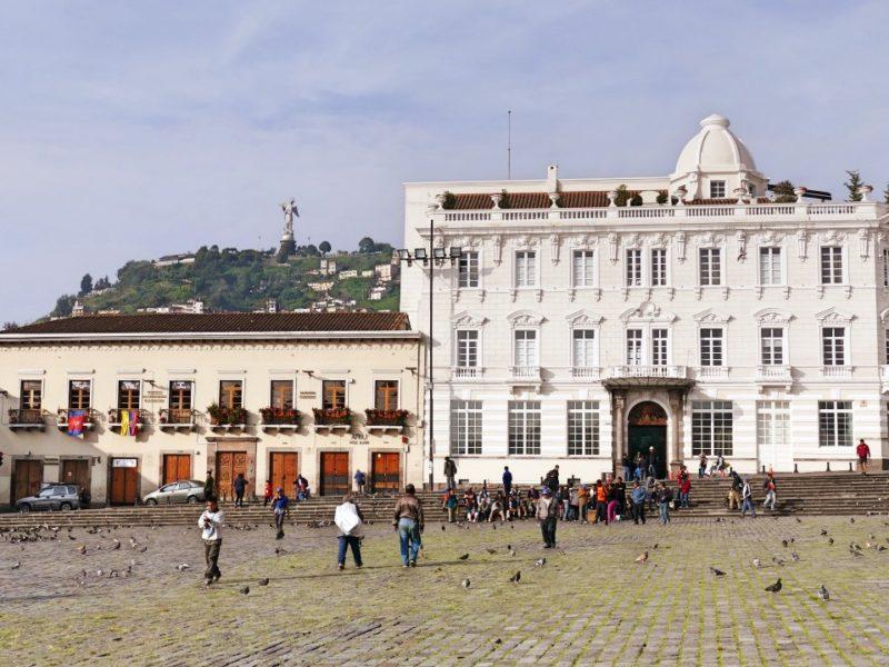 Casa Gangotena In Quito Aan Plaza San Francisco
