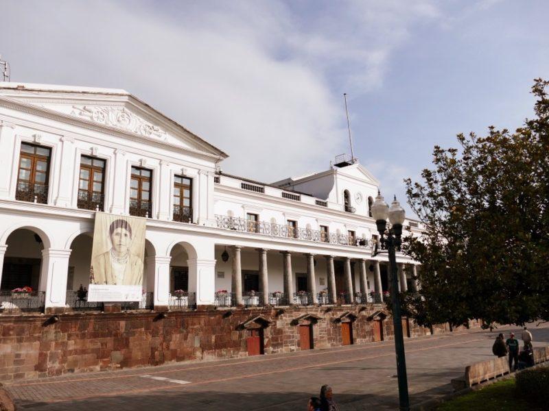 Palacio De Gobierno In Quito