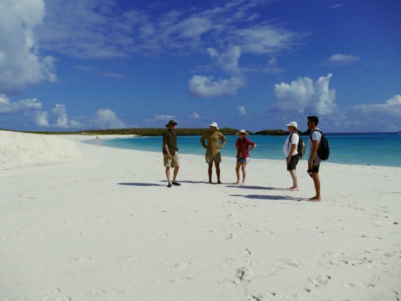 Wandelen Op Espanola Island Galapagos