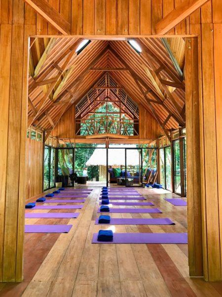 Amazon Yoga Center In Peru