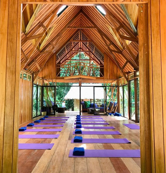 Amazon Yoga Center In Peru