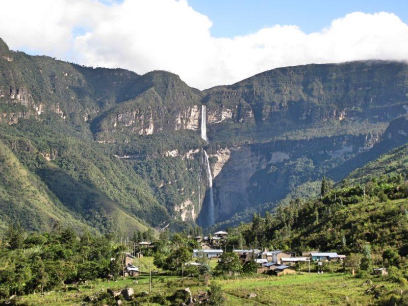 Mooiste Van Zuid-Amerika Gocta Waterval In Peru