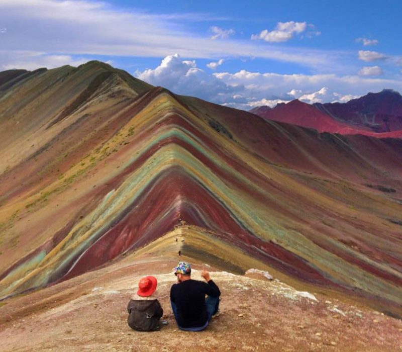 Rainbow Mountain Op Familiereis In Peru
