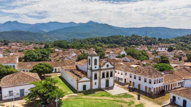Het Koloniale Dorp Paraty In Brazilië