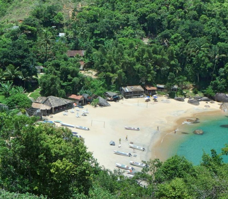 Het Paradijselijke Paraty In Brazilië