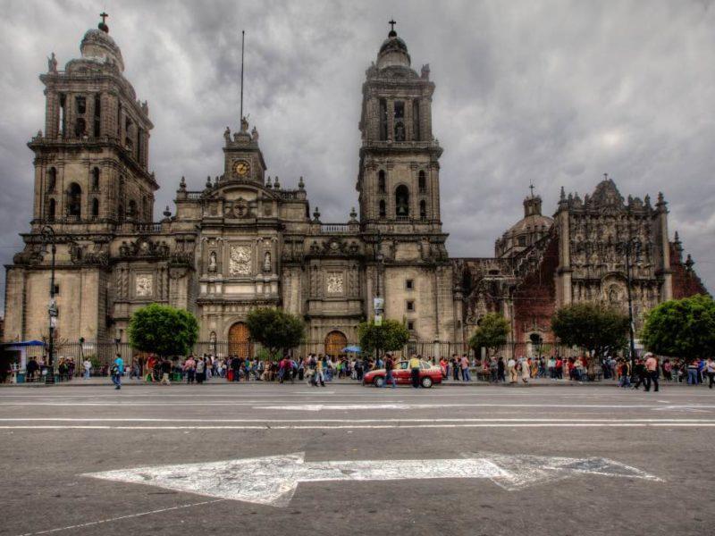 De Kathedraal Van Mexico-Stad