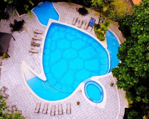 Zwembad Van De Aninga Lodge In Tortuguero