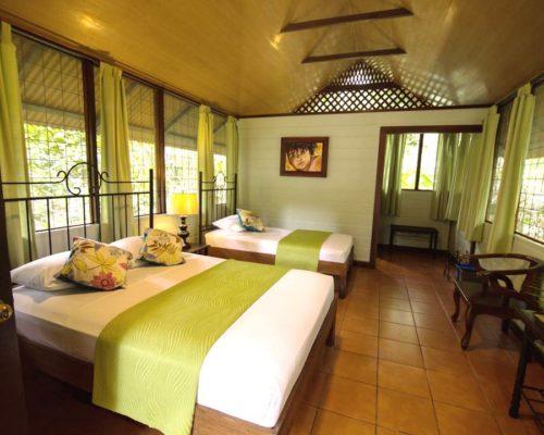 Tweepersoonskamer In De Aninga Lodge In Tortuguero