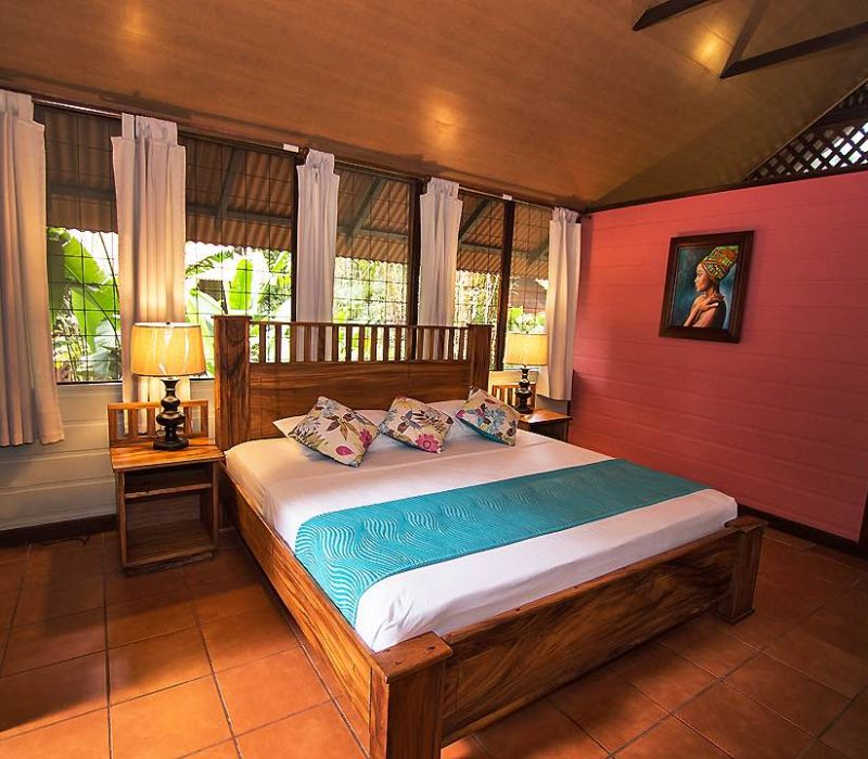 Kamer In De Aninga Lodge In Tortuguero Costa Rica