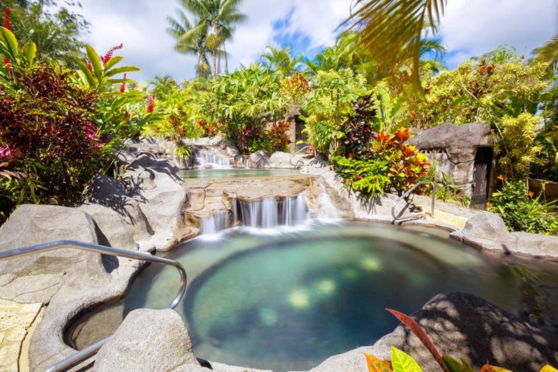 Warmwaterbaden Bij Arenal Kioro Suites & Spa