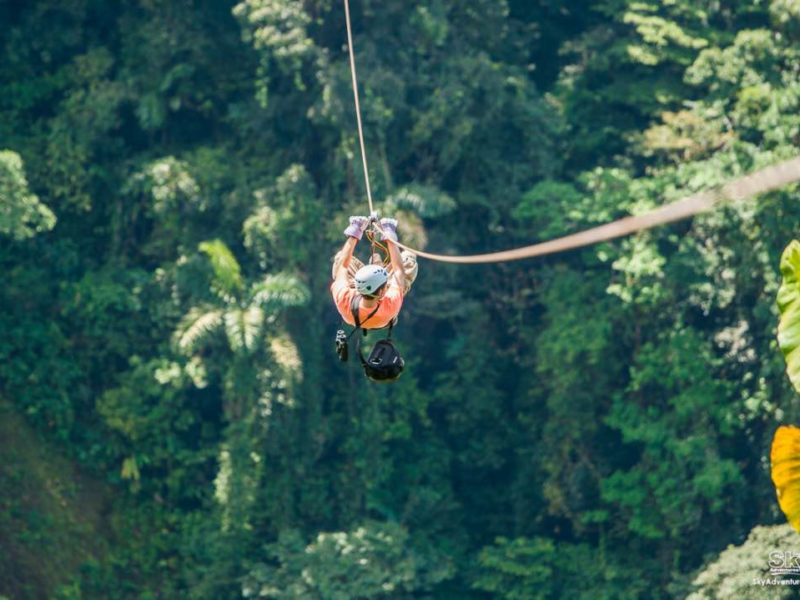 Canopy In Monteverde Costa Rica