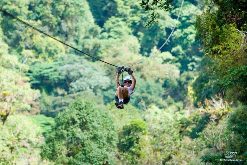 Costa Rica Monteverde Canopy