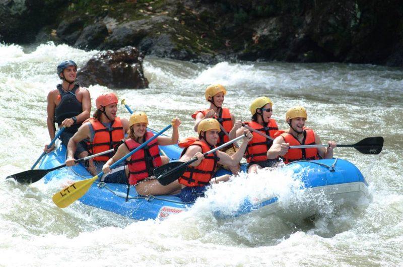 Rafting Op De Pacuare Rivier In Costa Rica
