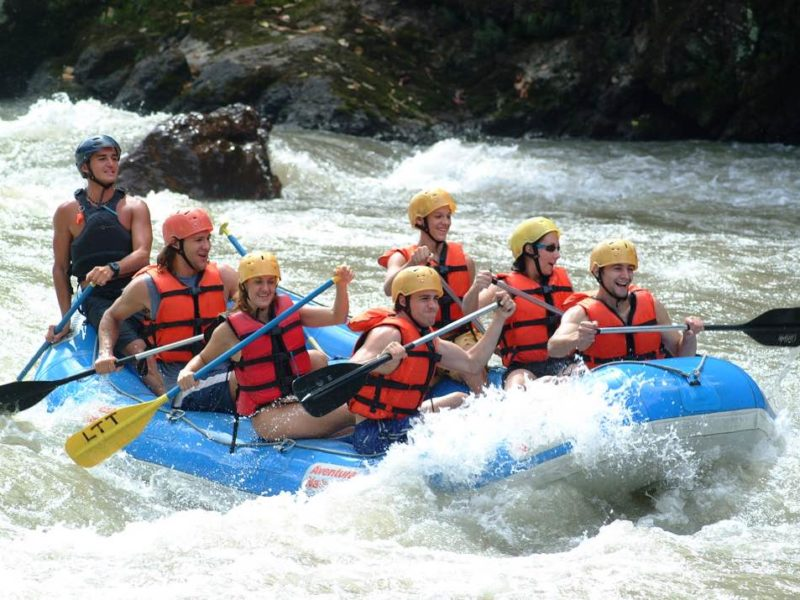 Rafting Op De Pacuare Rivier In Costa Rica