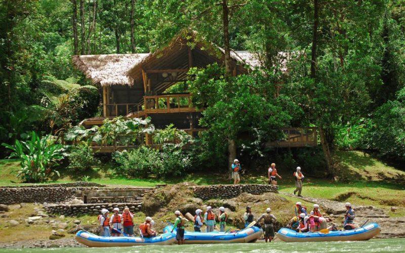 Raften Naar De Pacuare Lodge