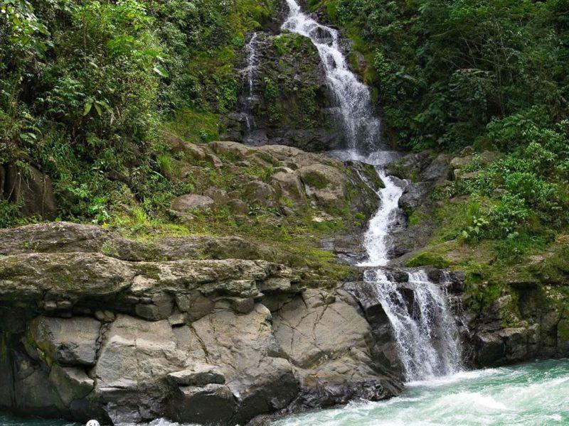 Raften Op De Beste Rivier In Costa Rica, De Pacuare Rivier