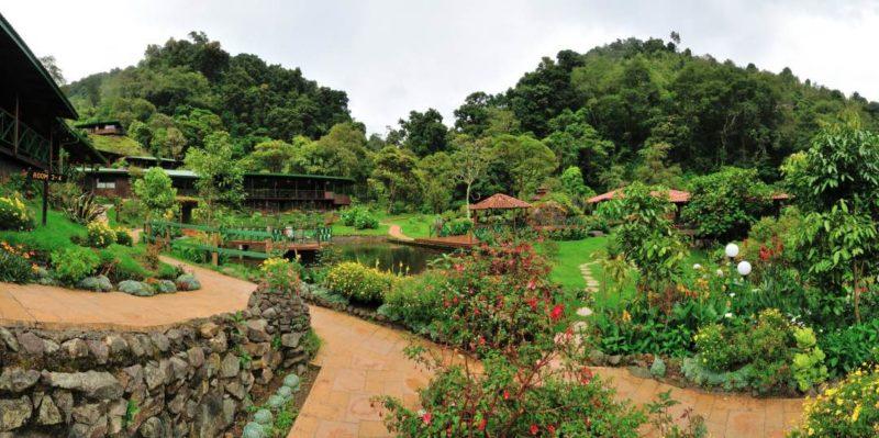 Trogon Lodge Costa Rica Tuin