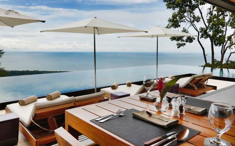 Uitzicht Vanaf Het Restaurant In Kura Design Villas