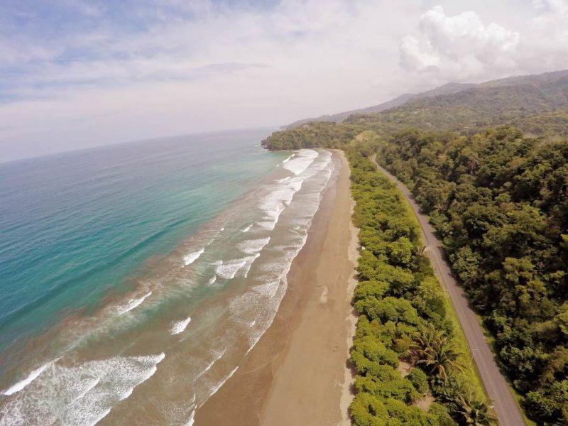 Costa Rica Uvita Regenwoud En Strand