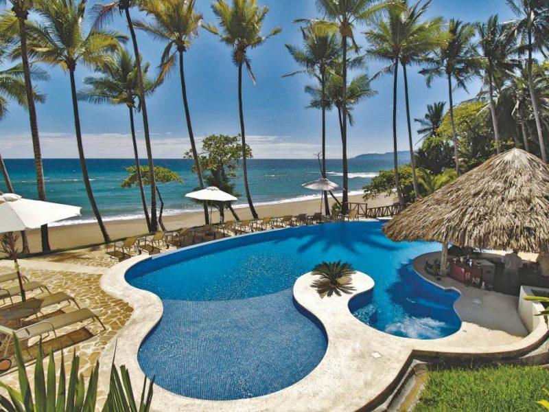 Zwembad En Zee Tango Mar In Costa Rica