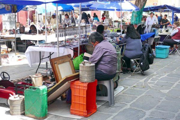 Mexico Markt Los Sapos Puebla