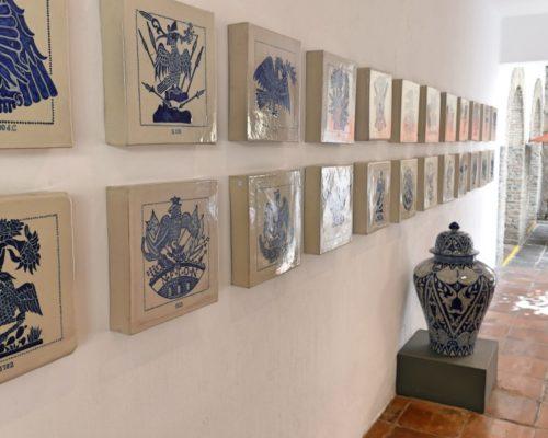 Talavera Kunst In Luxe Hotel Puebla