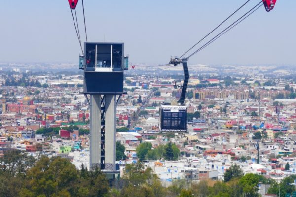 Mexico Teleferico Puebla
