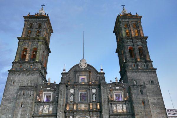 Kathedraal In Puebla