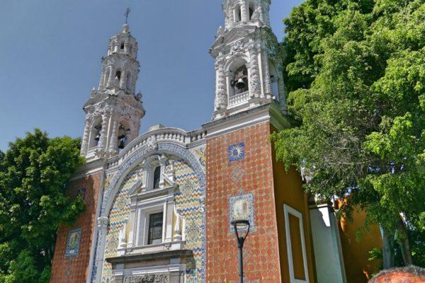 Kleurrijke Kerken In Puebla