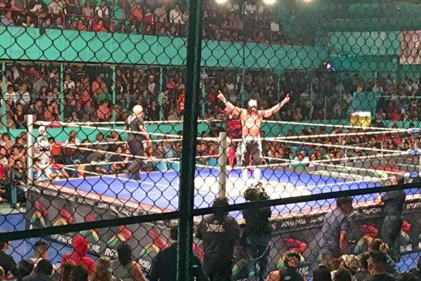 Lucha Libre In Puebla