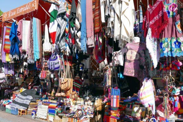 Puebla Lokale Markt El Parian