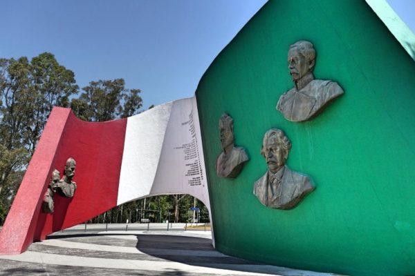 Puebla Los Fuertes Mexicaanse Vlag